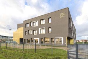 Gymnasium-Schönefeld Außenansicht