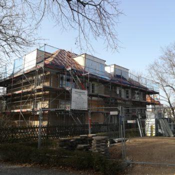 Jaczostraße 2f Dacharbeiten Front